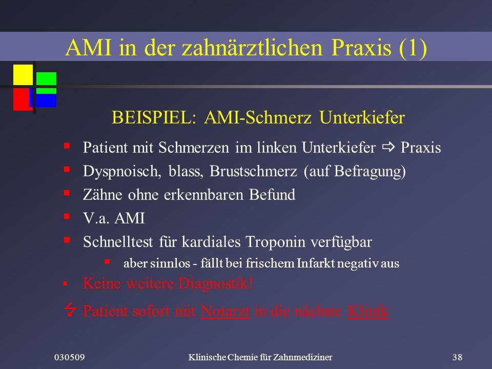 AMI in der zahnärztlichen Praxis (1)