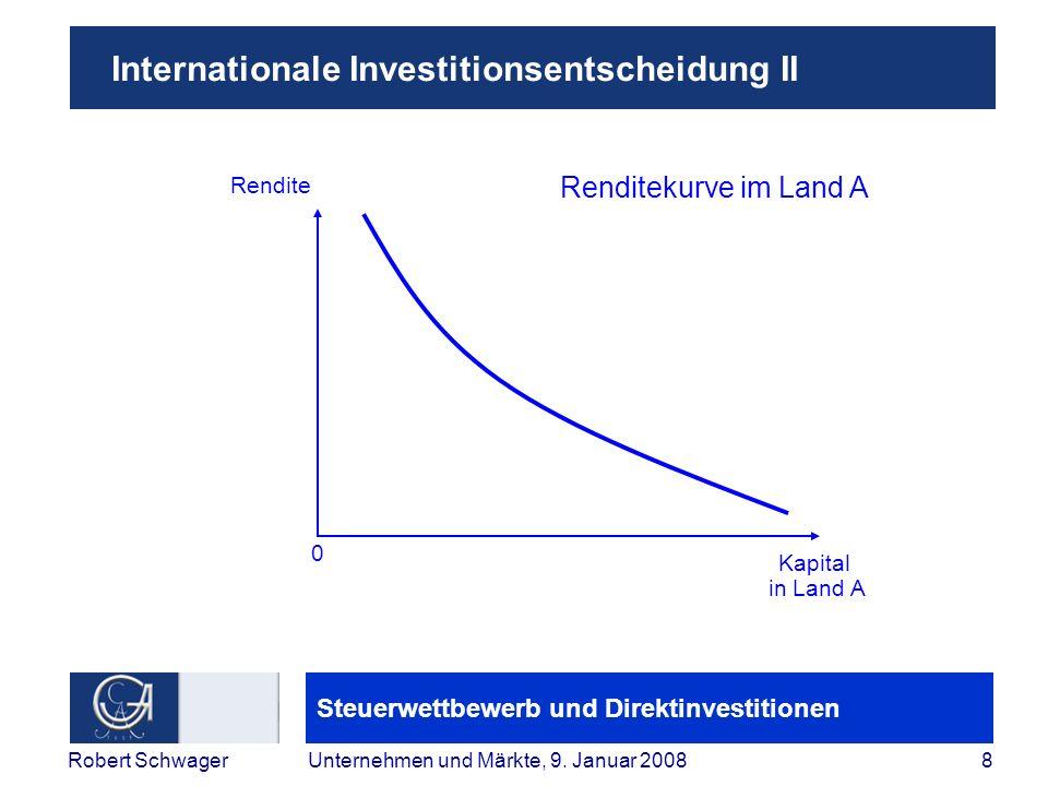 Internationale Investitionsentscheidung II