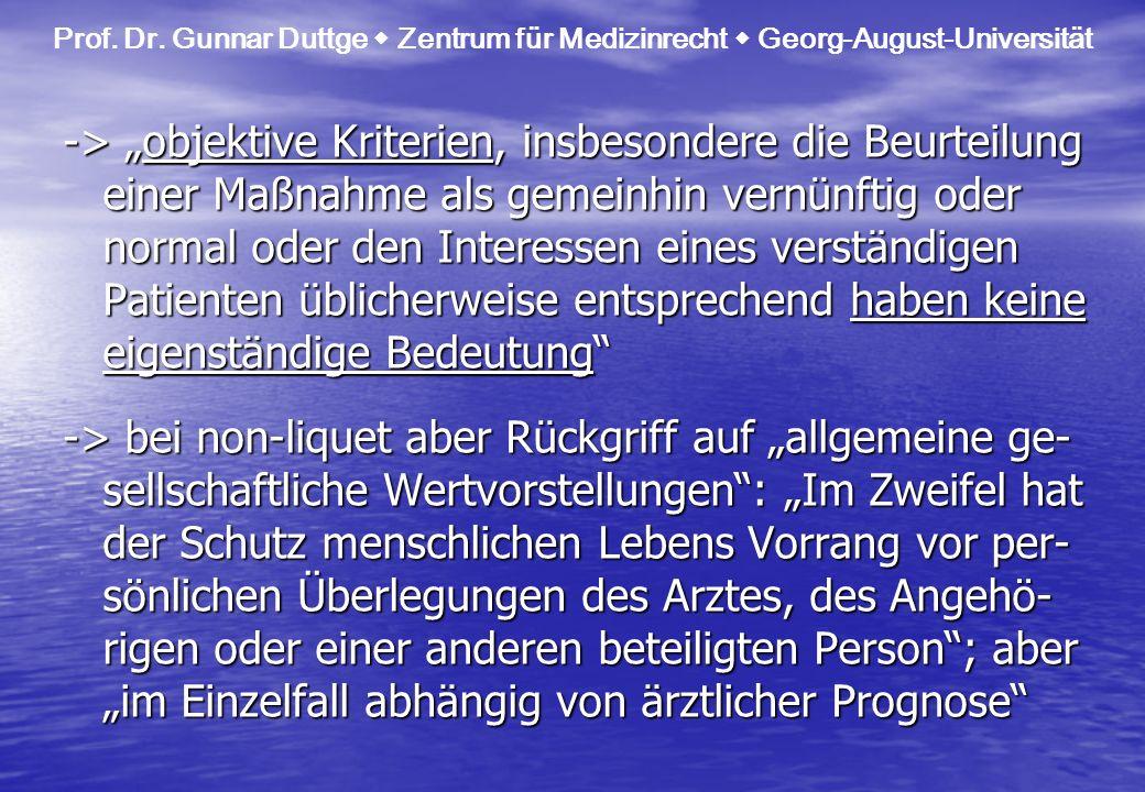 Prof. Dr. Gunnar Duttge  Zentrum für Medizinrecht  Georg-August-Universität