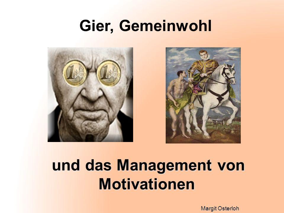 und das Management von Motivationen