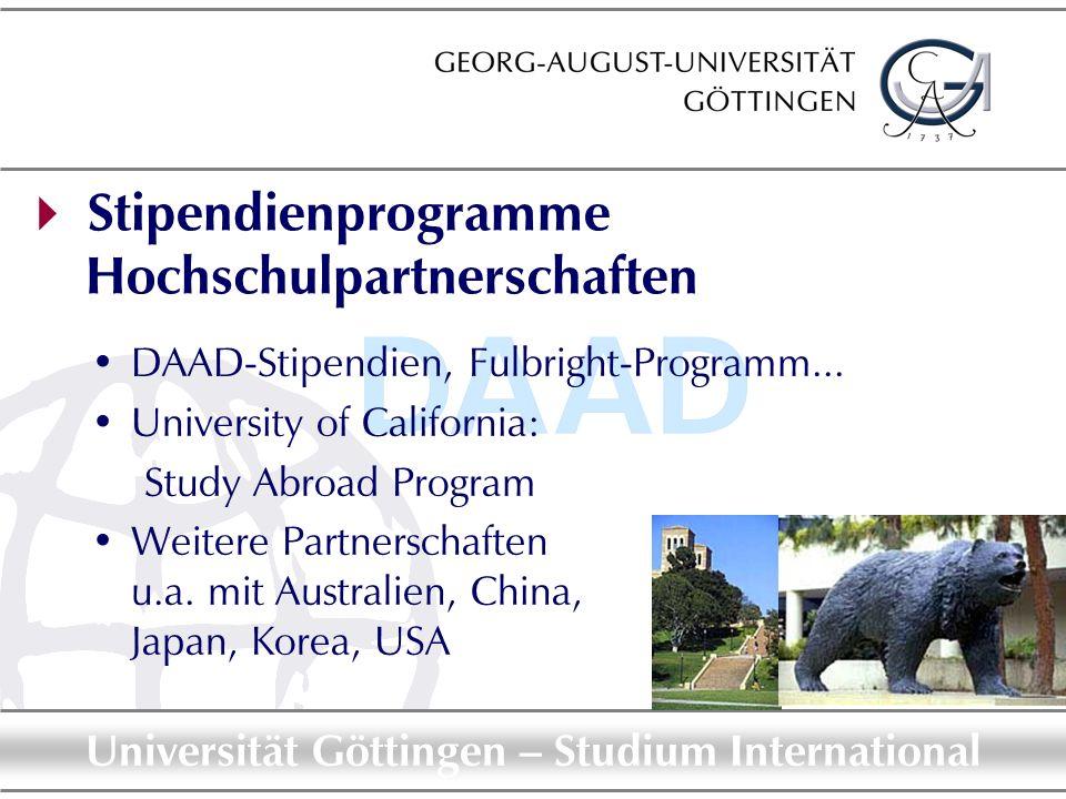  Stipendienprogramme Hochschulpartnerschaften