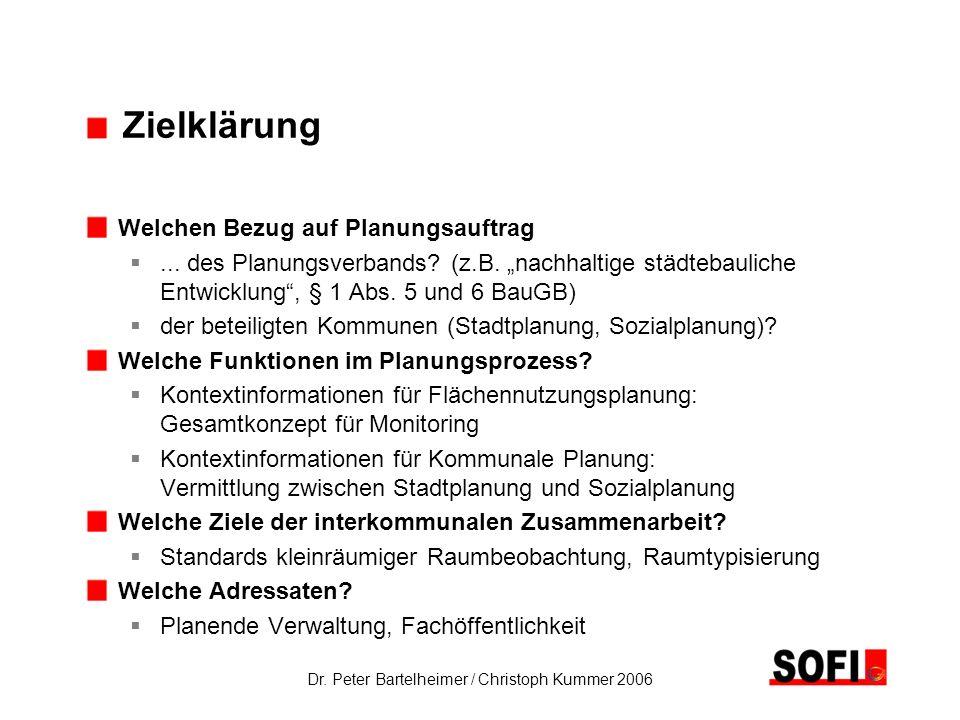 Dr. Peter Bartelheimer / Christoph Kummer 2006