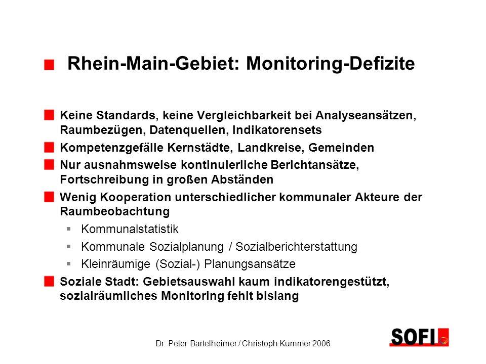 Rhein-Main-Gebiet: Monitoring-Defizite