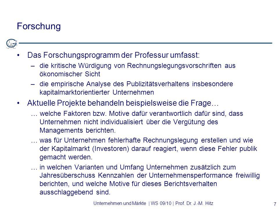 Forschung Das Forschungsprogramm der Professur umfasst: