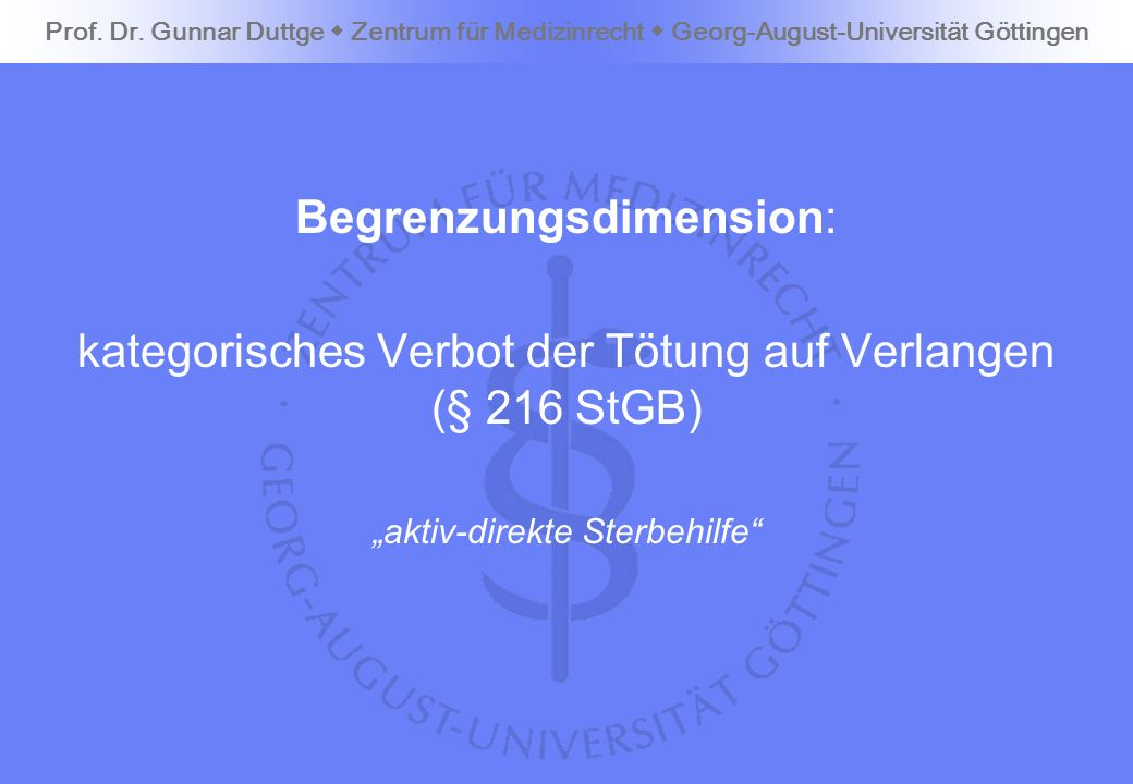 Begrenzungsdimension:
