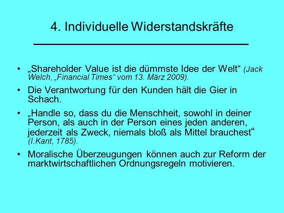 4. Individuelle Widerstandskräfte