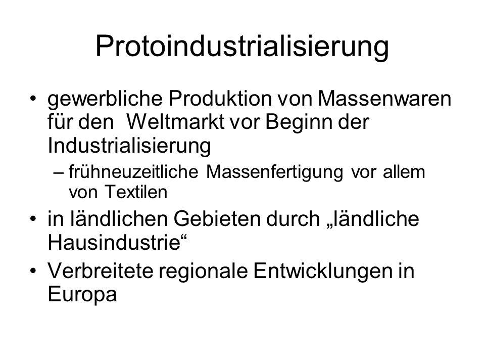 Protoindustrialisierung