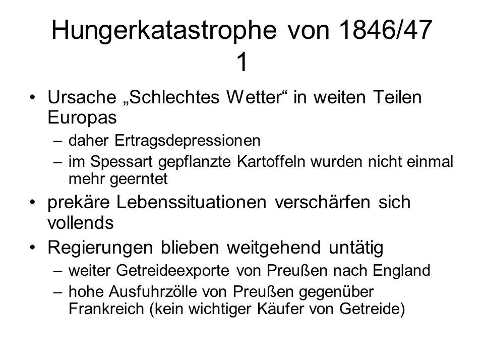 Hungerkatastrophe von 1846/47 1
