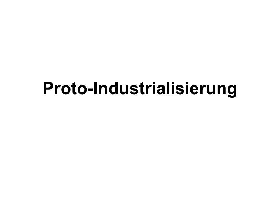 Proto-Industrialisierung