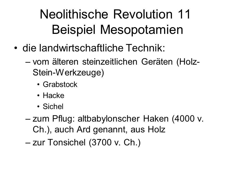 Neolithische Revolution 11 Beispiel Mesopotamien