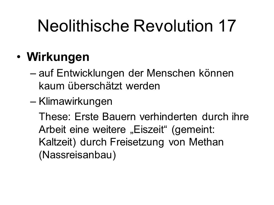 Neolithische Revolution 17