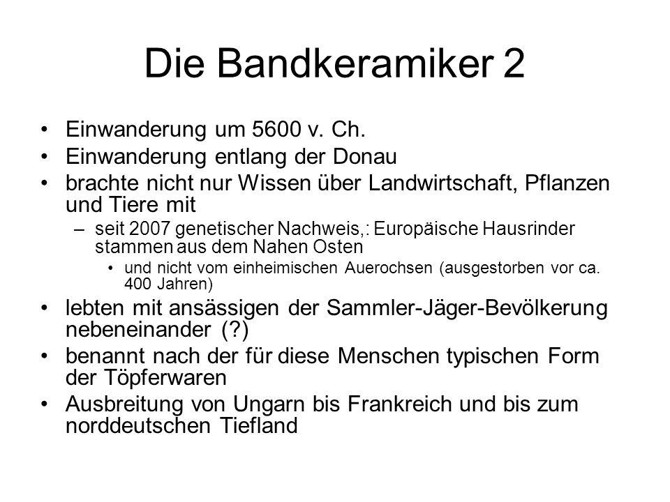 Die Bandkeramiker 2 Einwanderung um 5600 v. Ch.