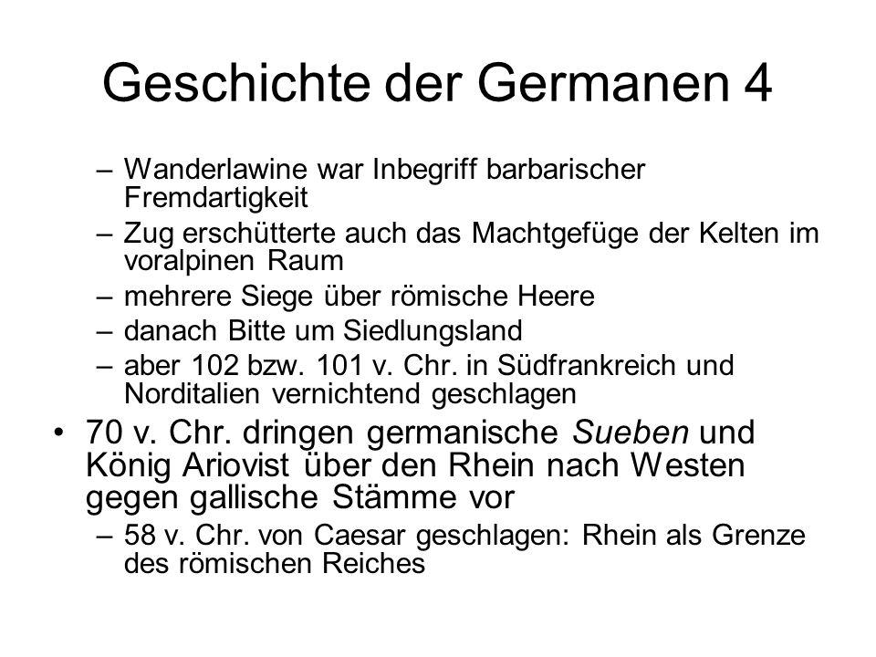Geschichte der Germanen 4