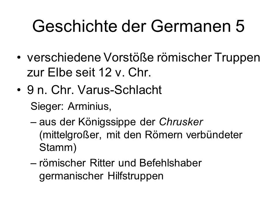 Geschichte der Germanen 5