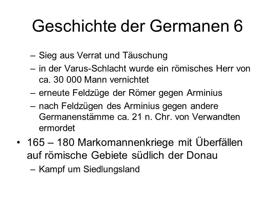 Geschichte der Germanen 6