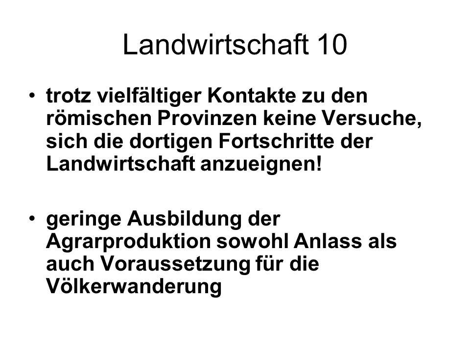 Landwirtschaft 10