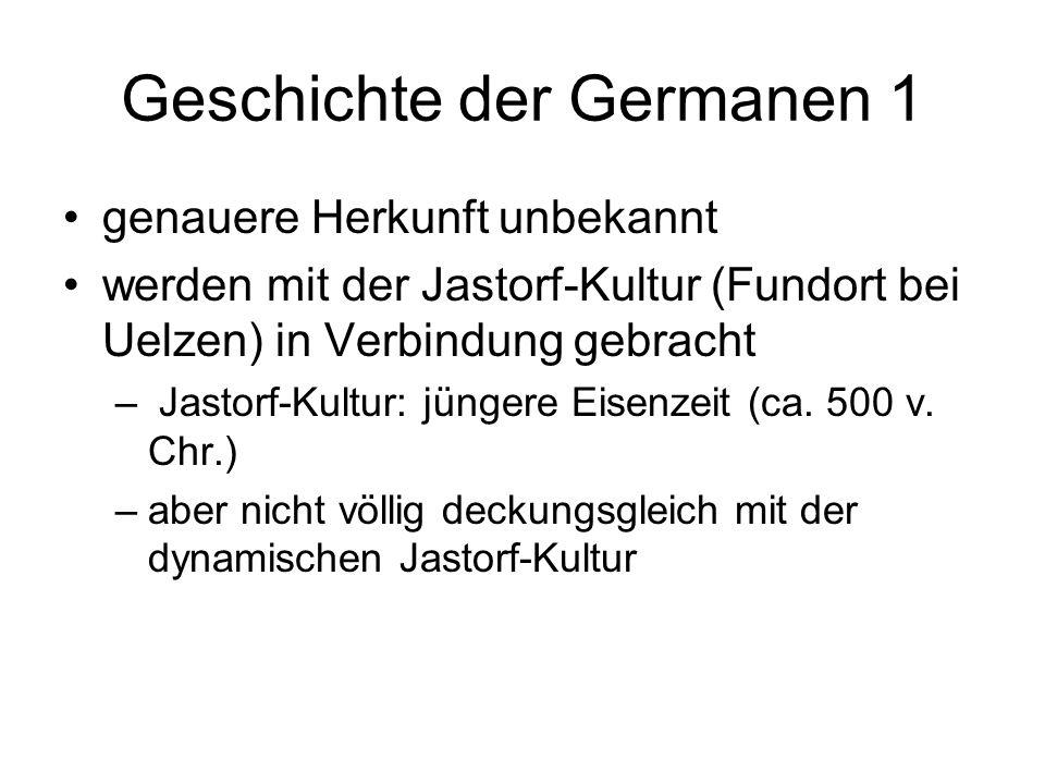Geschichte der Germanen 1