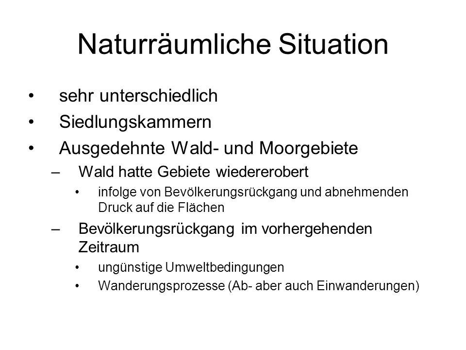 Naturräumliche Situation