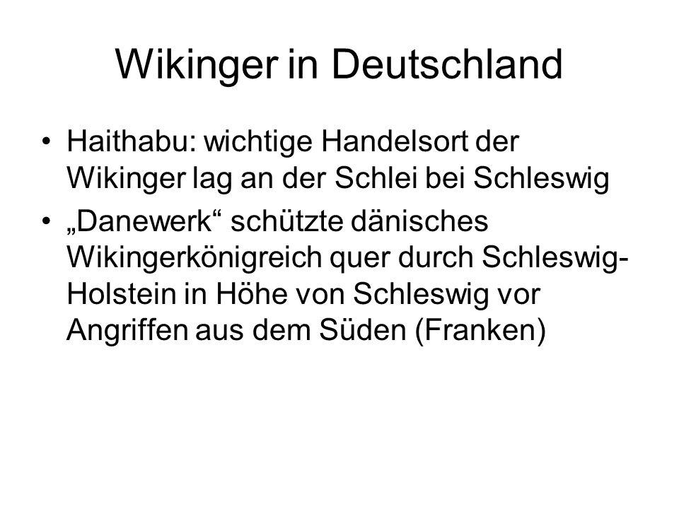Wikinger in Deutschland