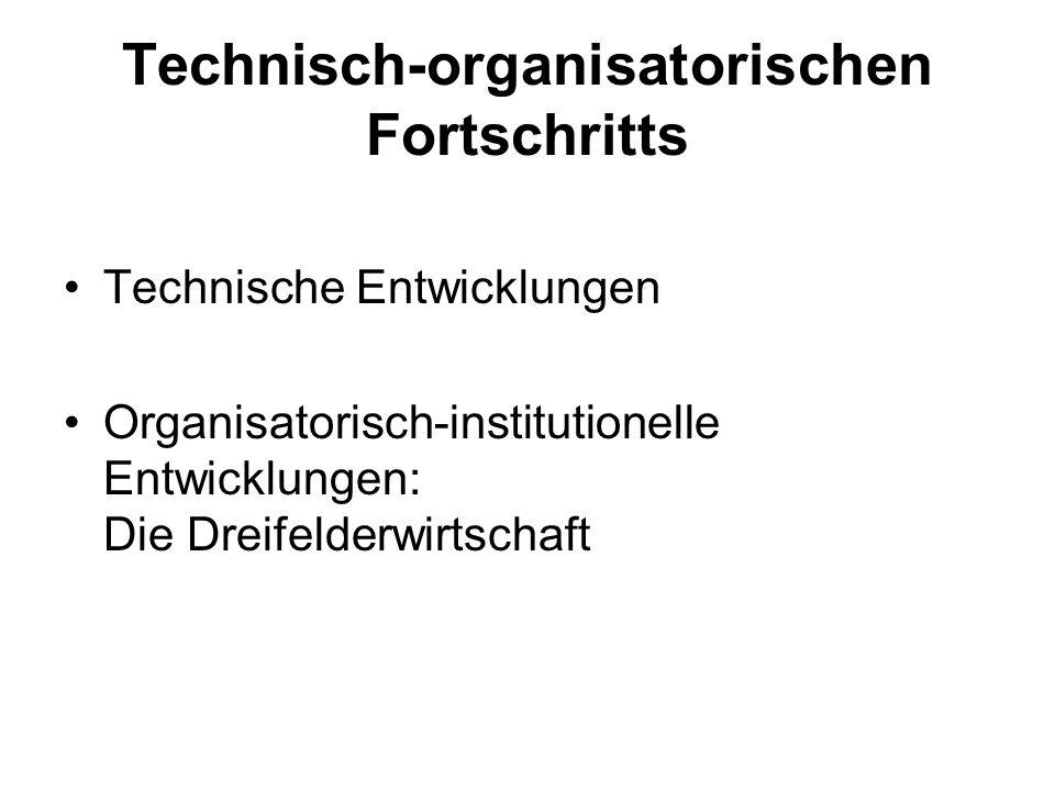 Technisch-organisatorischen Fortschritts