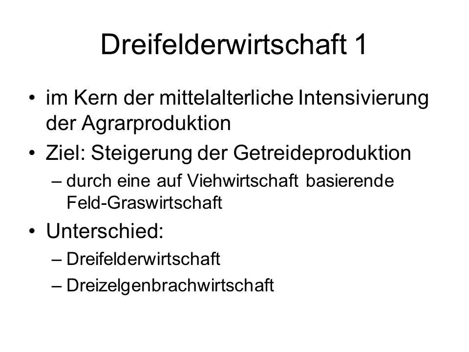 Dreifelderwirtschaft 1