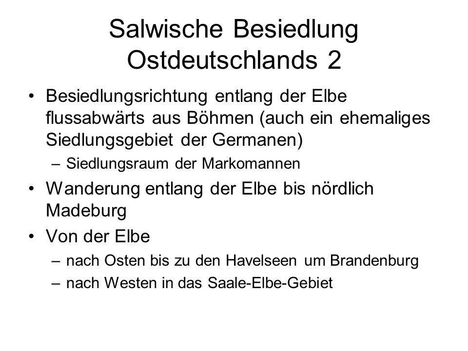 Salwische Besiedlung Ostdeutschlands 2