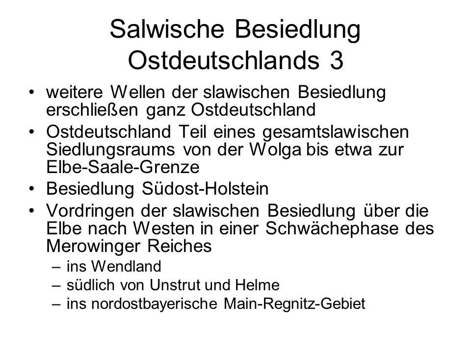 Salwische Besiedlung Ostdeutschlands 3