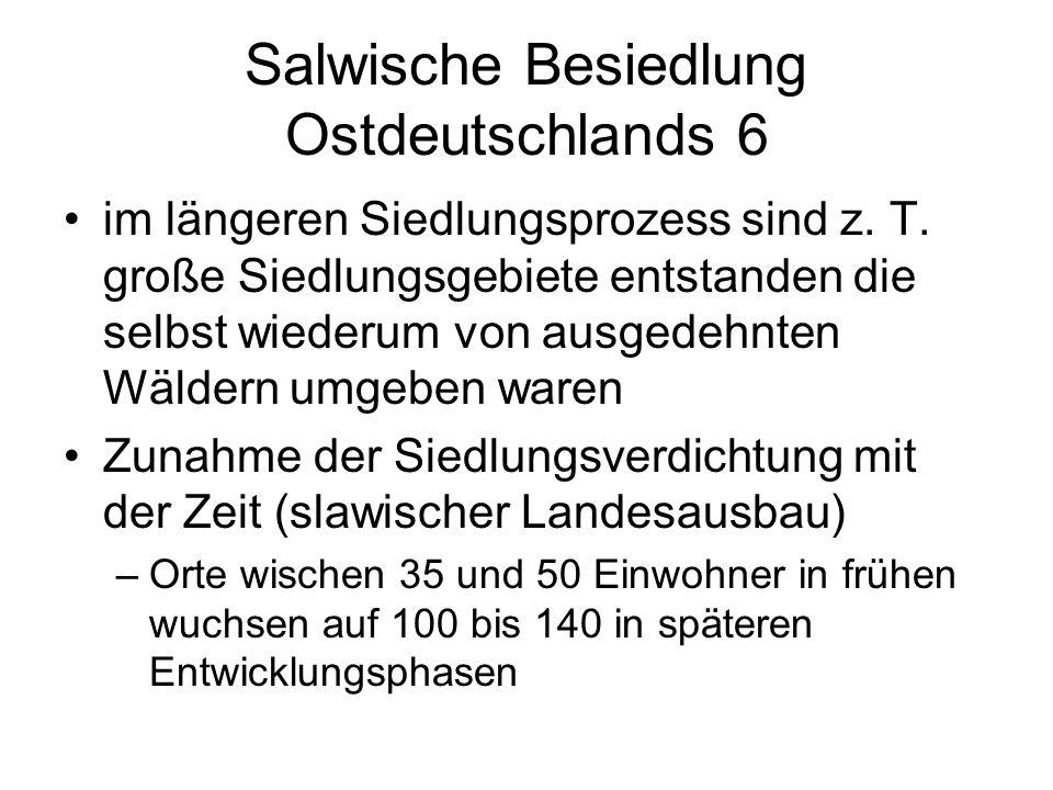 Salwische Besiedlung Ostdeutschlands 6