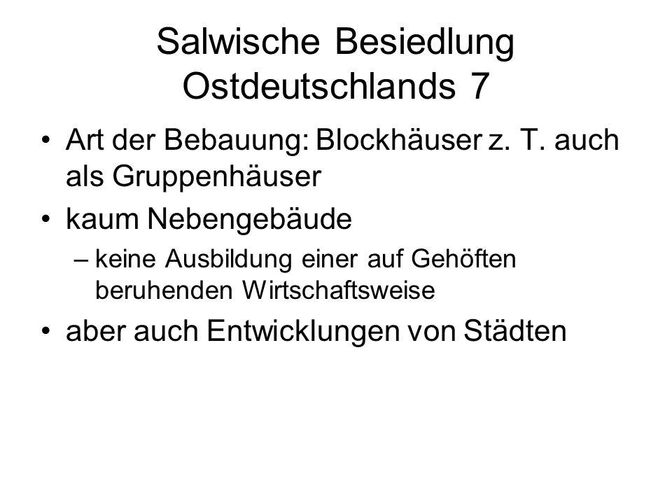 Salwische Besiedlung Ostdeutschlands 7