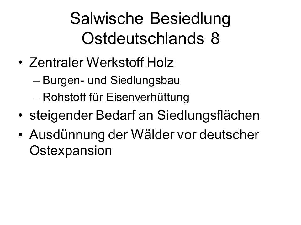 Salwische Besiedlung Ostdeutschlands 8