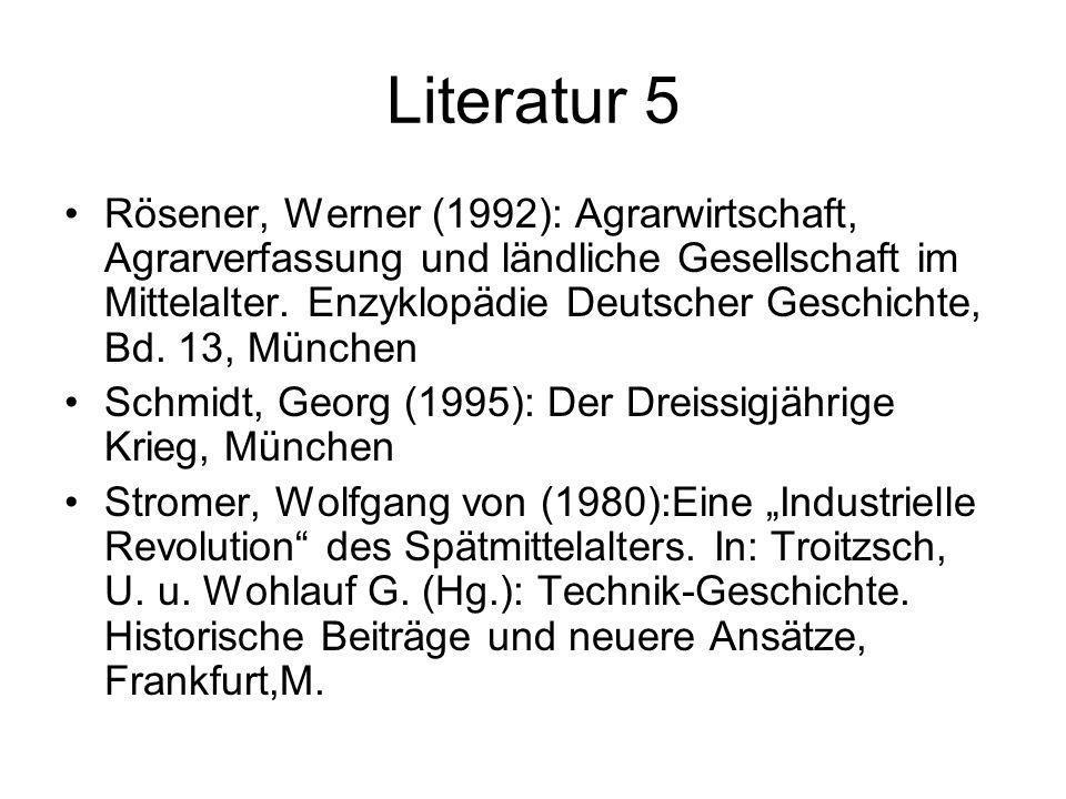 Literatur 5