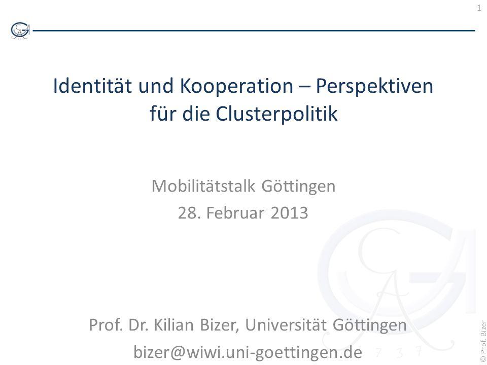 Identität und Kooperation – Perspektiven für die Clusterpolitik