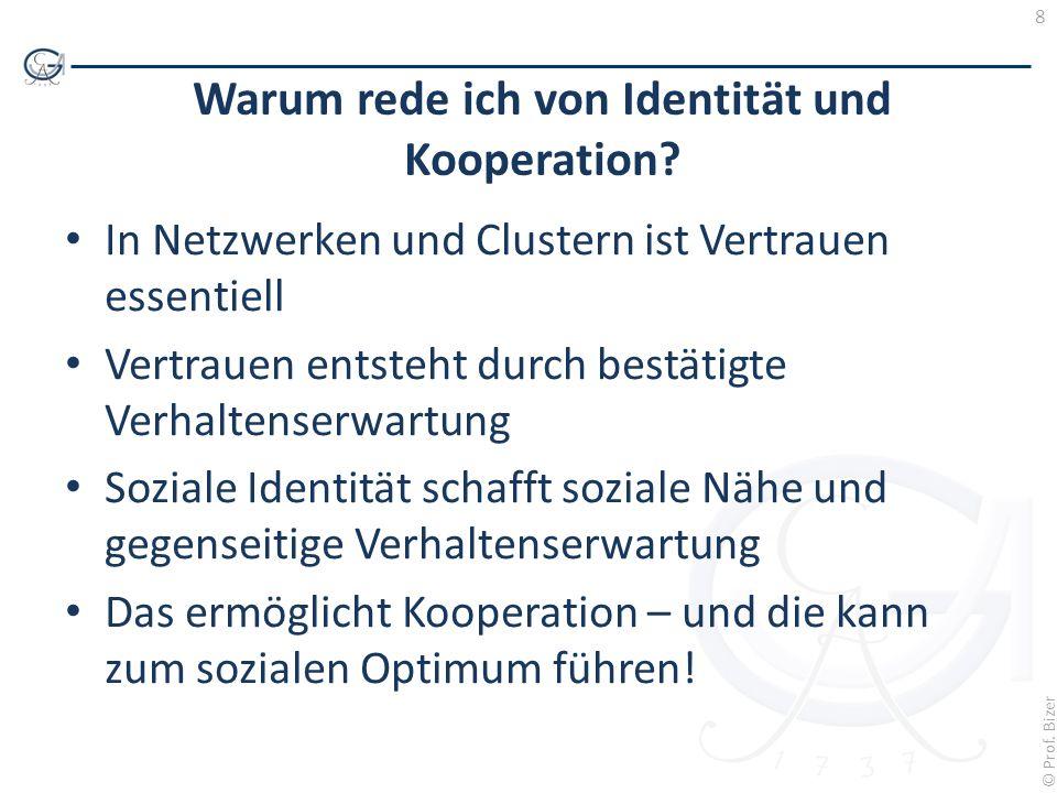 Warum rede ich von Identität und Kooperation