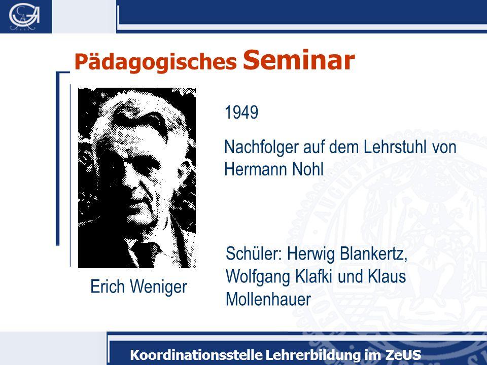 Pädagogisches Seminar