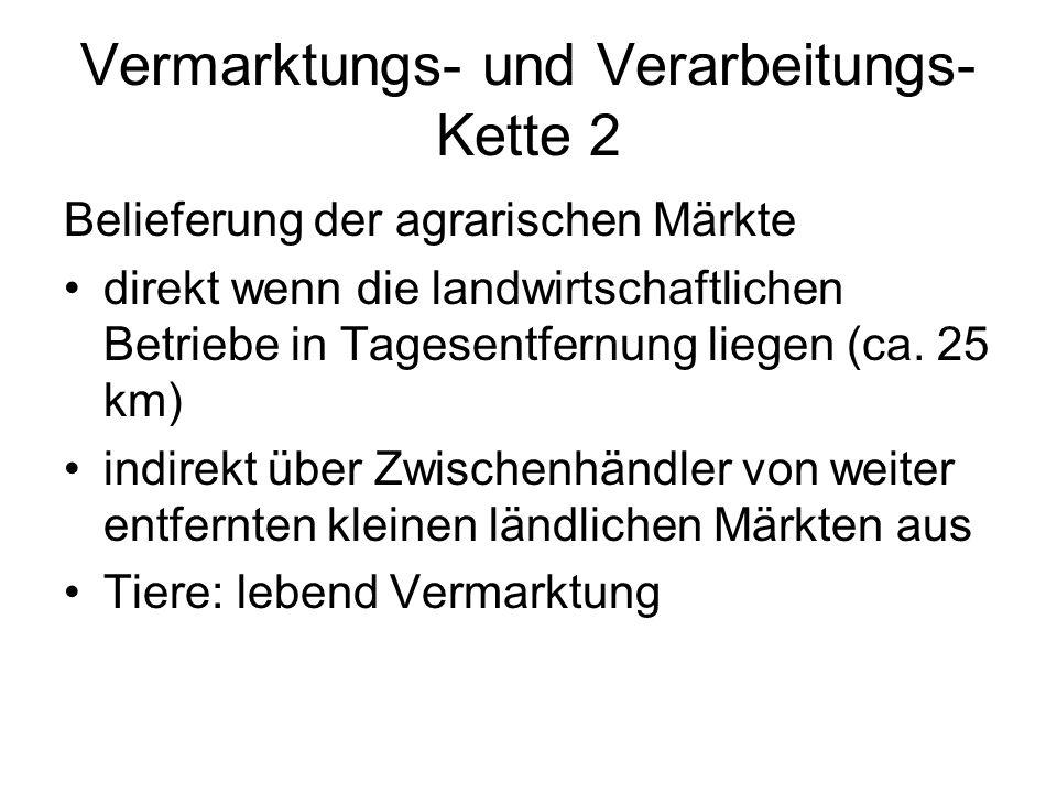 Vermarktungs- und Verarbeitungs-Kette 2