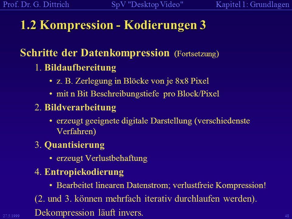 1.2 Kompression - Kodierungen 3