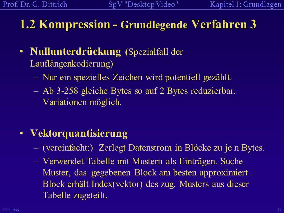 1.2 Kompression - Grundlegende Verfahren 3