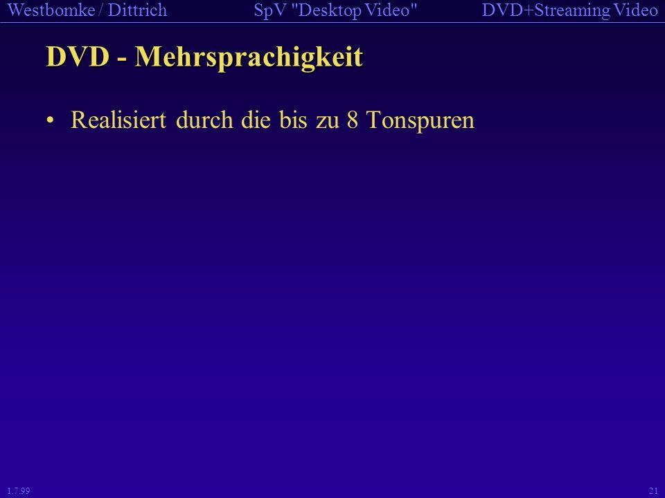 DVD - Mehrsprachigkeit