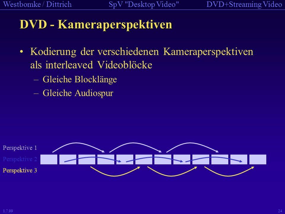 DVD - Kameraperspektiven