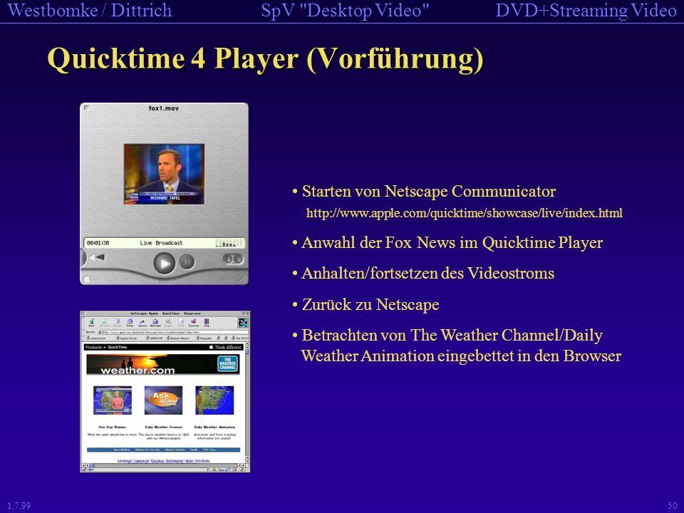 Quicktime 4 Player (Vorführung)