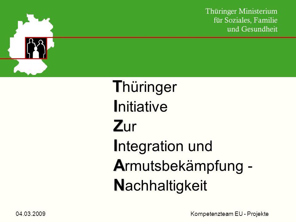 Kompetenzteam EU - Projekte