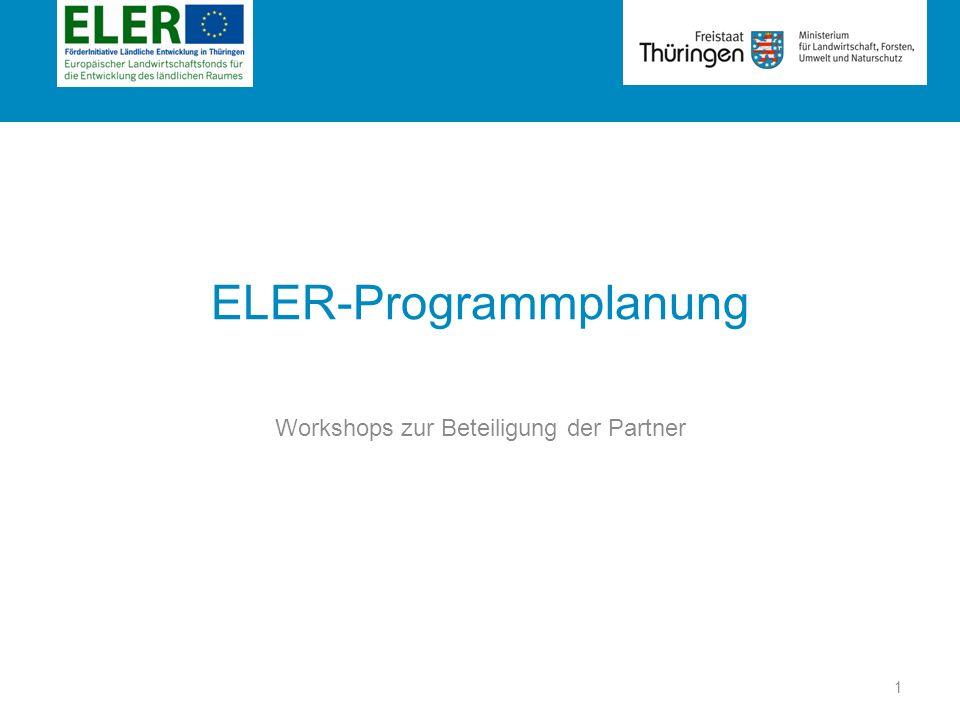ELER-Programmplanung