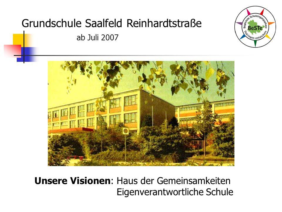 Grundschule Saalfeld Reinhardtstraße ab Juli 2007