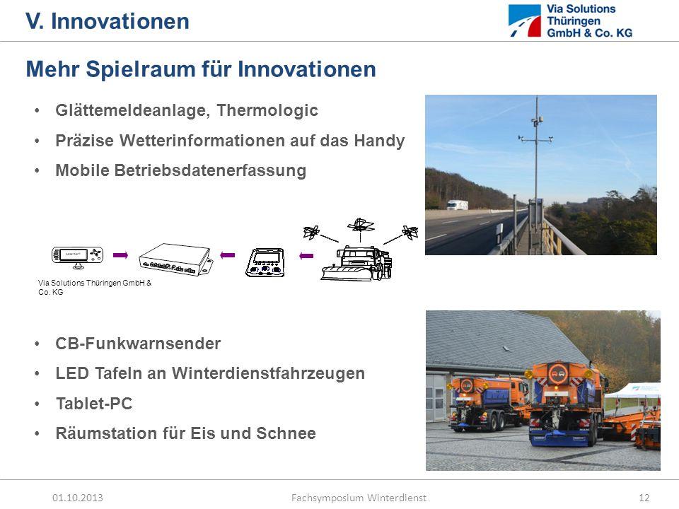 Mehr Spielraum für Innovationen