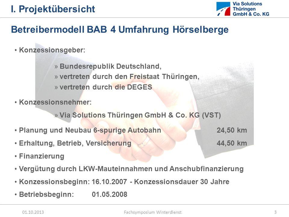 Betreibermodell BAB 4 Umfahrung Hörselberge