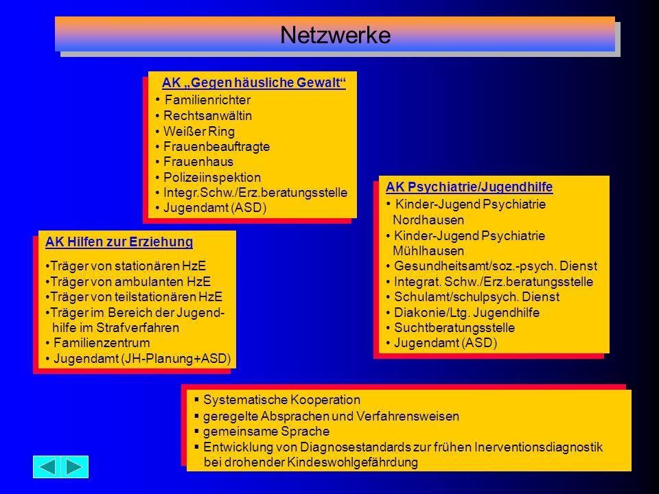 Netzwerke Familienrichter Kinder-Jugend Psychiatrie Nordhausen