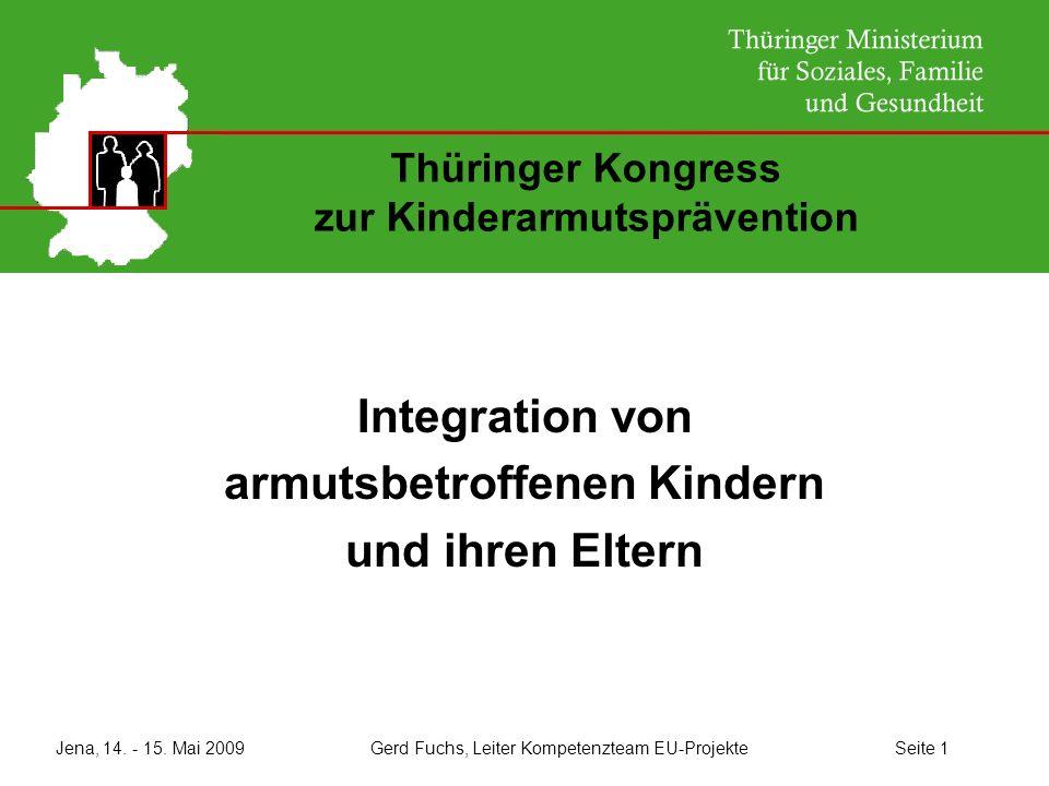 Thüringer Kongress zur Kinderarmutsprävention
