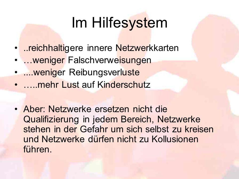 Im Hilfesystem ..reichhaltigere innere Netzwerkkarten