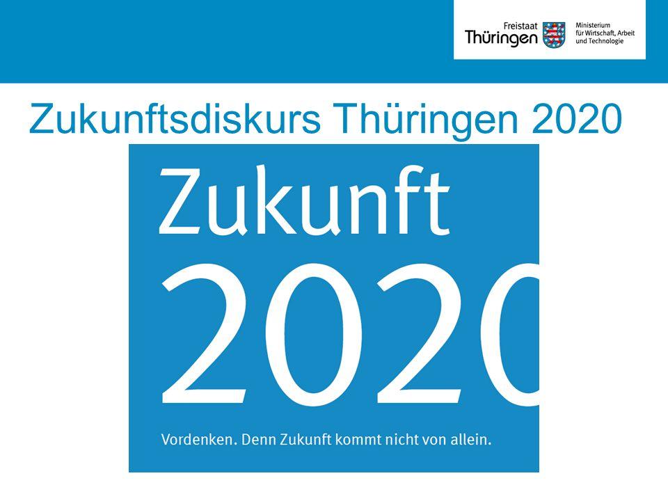 Zukunftsdiskurs Thüringen 2020