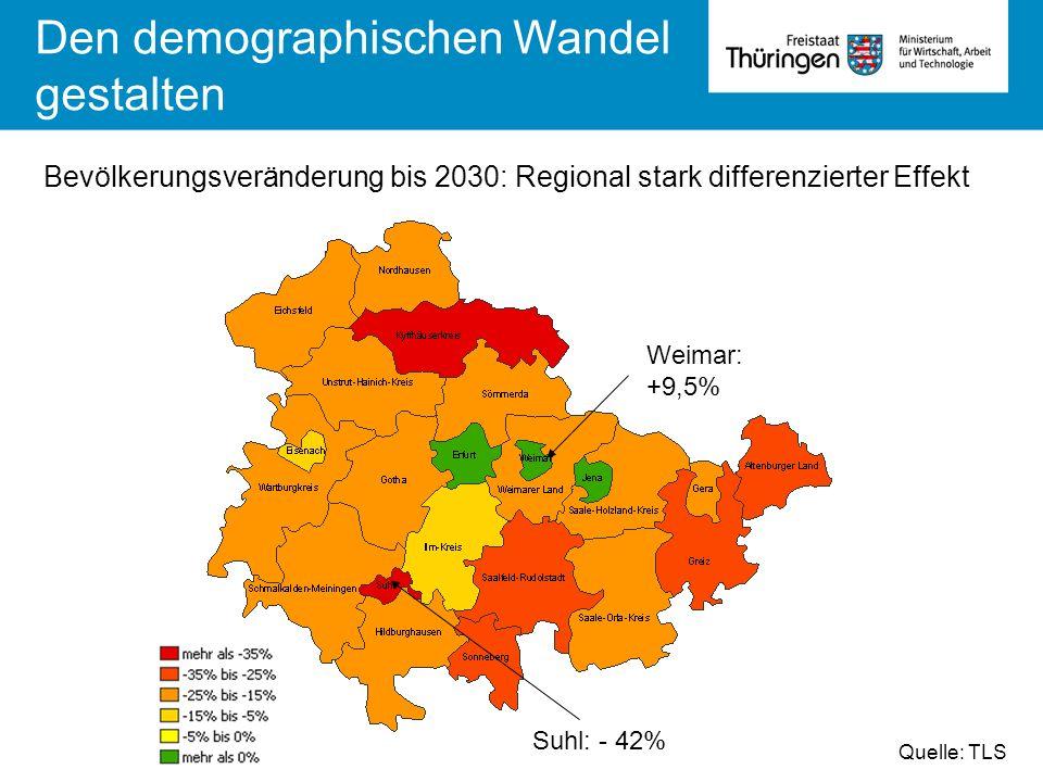 Den demographischen Wandel gestalten
